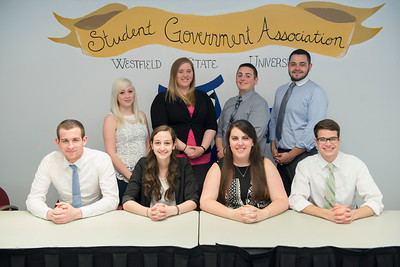 The Westfield State University SGA Executive Council- Spring 2014