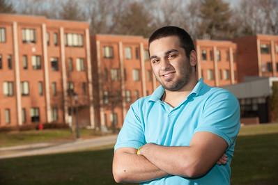Mr. Westfield 2015 Contestants at Westfield State University