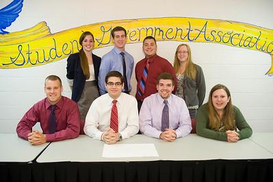 Westfield State University SGA Executive Council, 9/2011