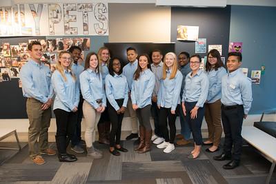 Westfield State University Student Ambassadors, October, 2016