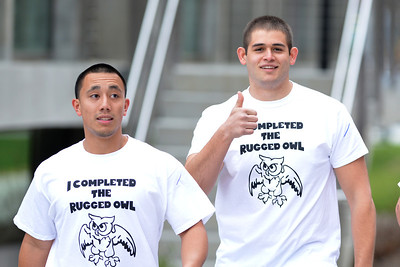The 2014 Rugged Owl obstacle course through Westfield State University