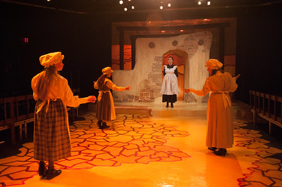 Westfield State University Theater Department's production of Blood Moon, December 2015