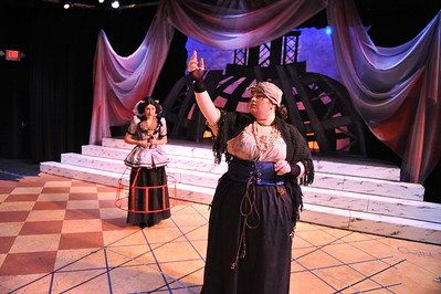 Westfield State University Theater Department's production of Julius Caesar
