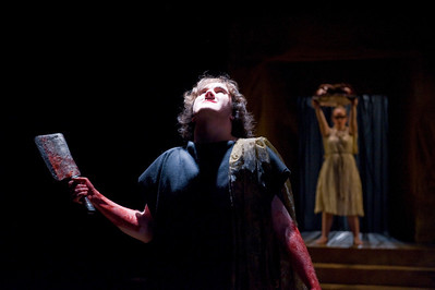 Westfield State University's Theater Arts production of The Oresteia, May 2011.
