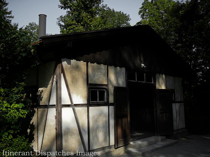 """The """"small"""" crematorium."""