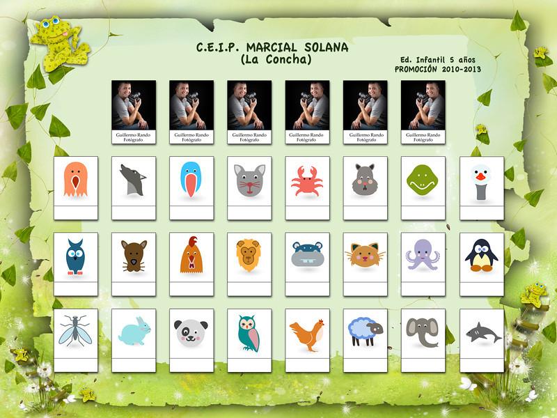 ORLA INFANTIL - C.E.I.P. MARCIAL SOLANA (La Concha)  Ed. Infantil 5 años