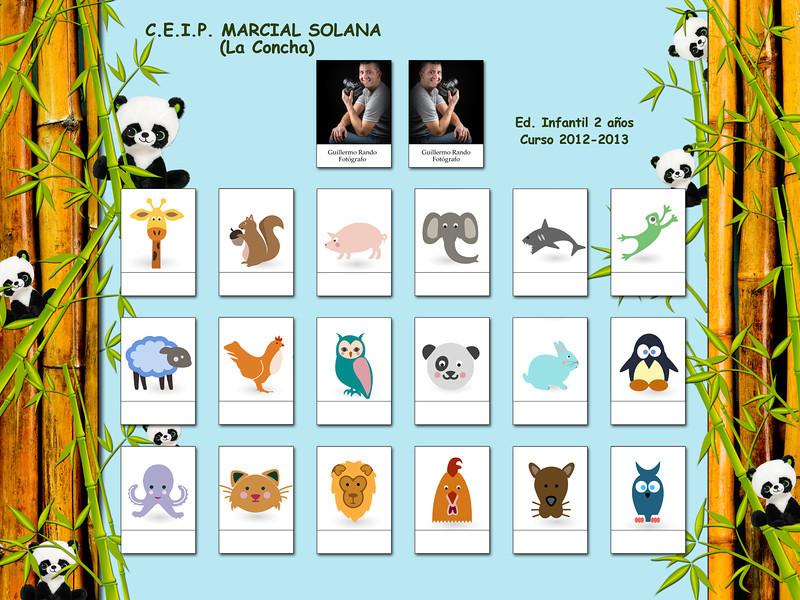 ORLA INFANTIL - C.E.I.P. MARCIAL SOLANA (La Concha)  Ed. Infantil 2 años