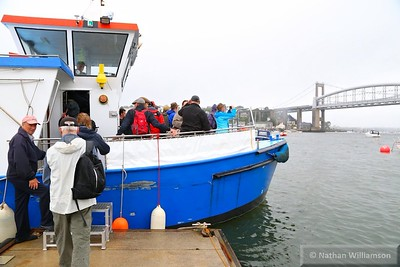 Ferry to take walkers back to Saltash  12/07/15