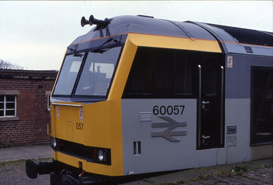 60057 stables in Workington in October 1991