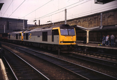 60022 stands in Carlisle in May 1992