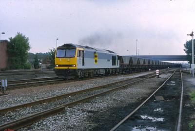 60059 passes Toton on a coal train  11/07/1993
