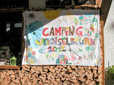 das diesjährige Siegerbild der Camping Weichselbrunn-Welt