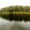 Anschwimmen die Hälfte<br /> am anderen Ufer angekommen
