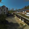 Gründach Solaranlage Lichtreiter Sanitärbau<br /> Einfahrt und Wohnhaus