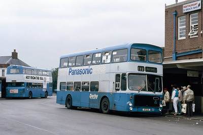 Derby 71 Derby Bus Station Aug 85