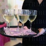 Wine served served.