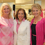 Susan Vogt, Lynnie Meyer and emcee Jackie Hays.
