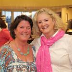Sally Rhea and Beth Scinta.