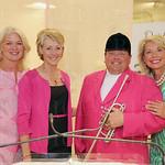Susan Vogt, emcee Jackie Hays, Steve Buttleman and Joyce Meyer