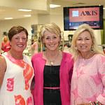 Debbie Whiting, emcee Jackie Hays and Jerri Richard.