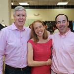Howard Vogt, Sarah and Carter Ruml.