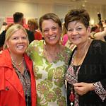 Lauren Stanberry, Lara MacGregor and founder of the Derby Divas Sabrina Hackett