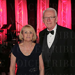 Kentucky Derby Museum President Lynn Ashton and State of Kentucky Tourism, Arts and Heritage Cabinet Secretary Bob Stewart.