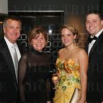 Gary and Valerie Braun, and Cristina and Erik Brown.