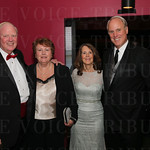 University of Louisville President Jim Ramsey,Jane Ramsey, Brian and Mary Lavin.