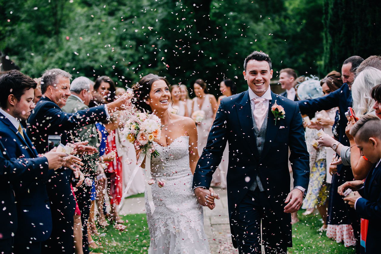 Kristian & Gemma's wedding day
