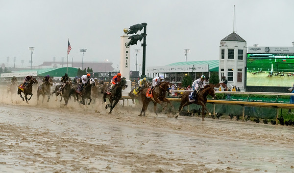 Justify Closes in. Justify Wins The 144th Running Of The Kentucky Derby