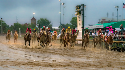 Maximum Security finishes ahead of Country House at the 145th KY Derby  4-2-19 - Churchill Downs - by Steven Bullock -2