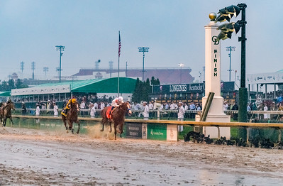 One length away. Justify Wins The 144th Running Of The Kentucky Derby