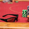 Phil Hellmuth's sunglasses.