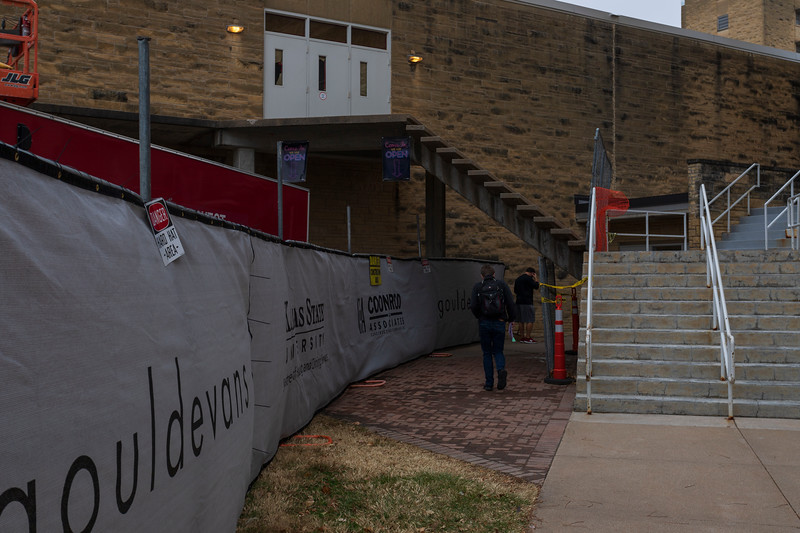 Derby Dining Center will close for the spring semester following spring break. The last meal served in Derby will be dinner Friday, March 6. photo taken on 11/21/19 (Jordan Koster   Collegian Media Group)