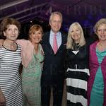 Dr. Alexandra Gerassimides, Susan Irwin, Mayor Greg Fischer, Susan Kalla and Lynn Fischer.
