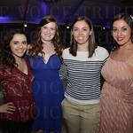 Briana Browne, Ashley Kruth, Mary Grace Reed and Jazmyn Aria.