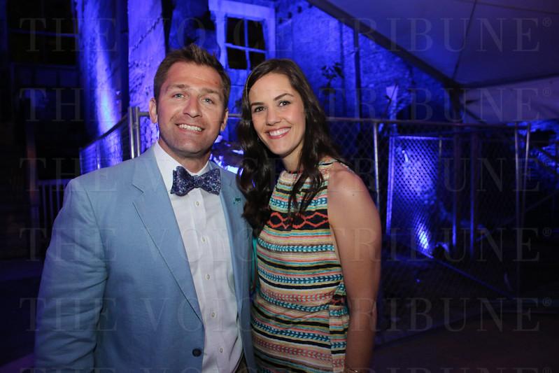 David Randles and Emily Wickerham.