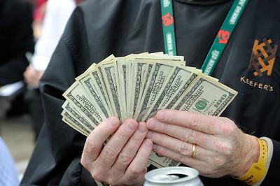Money won and gambled