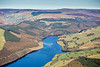 Derwent Reservoir from the air.