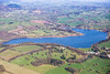 Ogston Reservoir from the air.