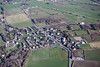 Apperknowle in Derbyshire from the air.