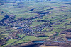 Bradwell in Derbyshire from the air.