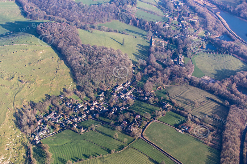 Aerial photo of Carsington.