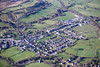 Hope in Derbyshire from the air.