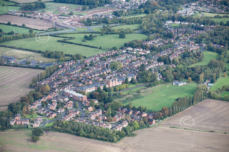 Aerial photo of Mickleover.