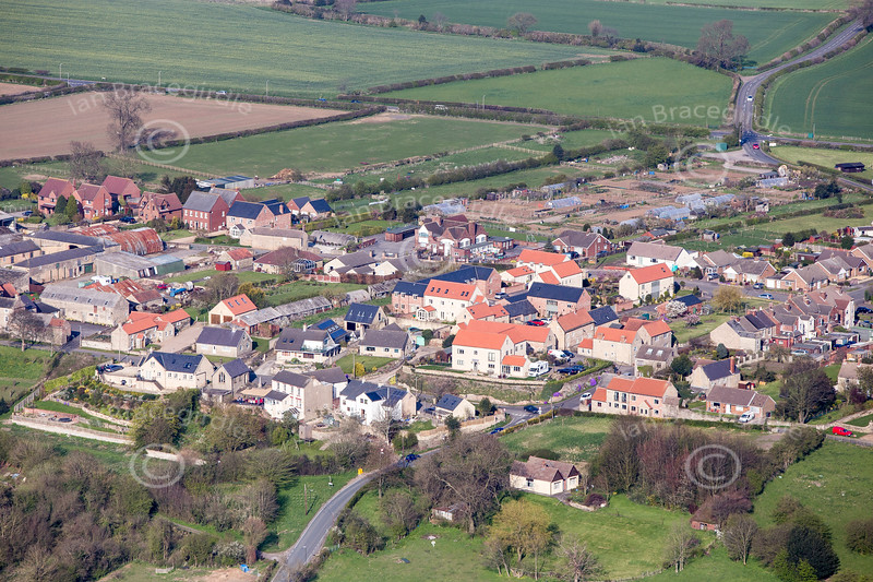 Palterton from the air.