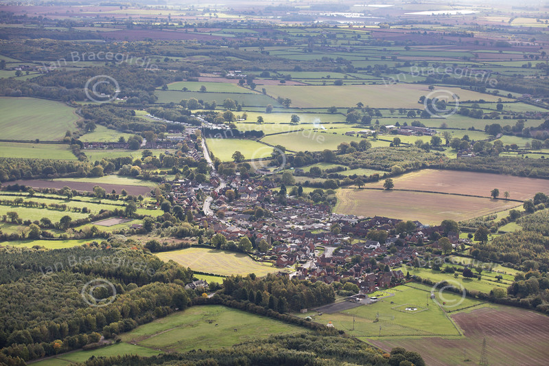 Aerial photo of Roliston.