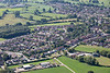Aerial photos of Rolleston on Dove.