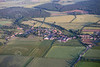 Aerial photo of Scarcliffe.